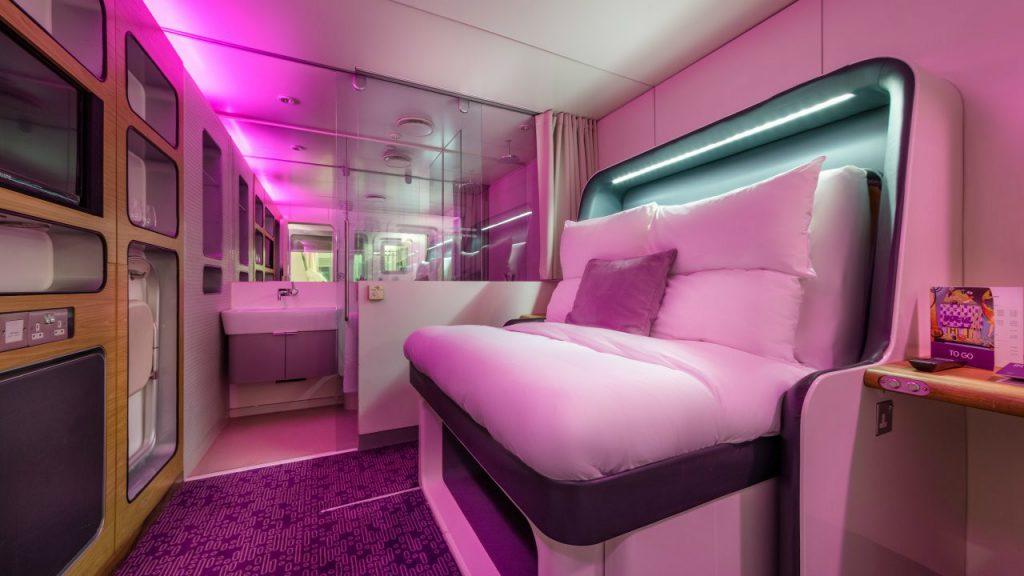 Yotel Gatwick Airport: Premium Cabin room tour